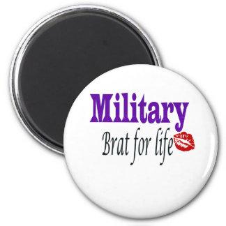 military brat 2 2 inch round magnet