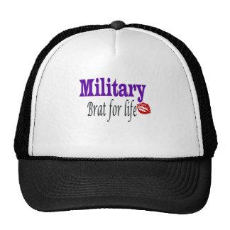military brat 2 mesh hats