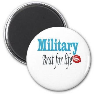 military brat 2 inch round magnet