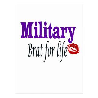 military brat 2 postcards