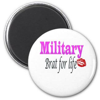 military brat 3 2 inch round magnet