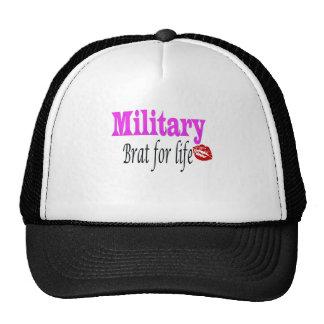 military brat 3 mesh hats