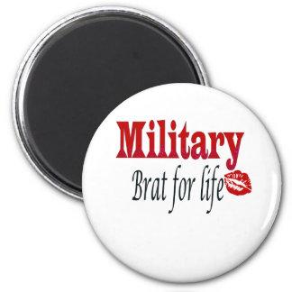 military brat 4 2 inch round magnet
