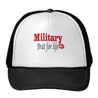 military brat 4 trucker hats