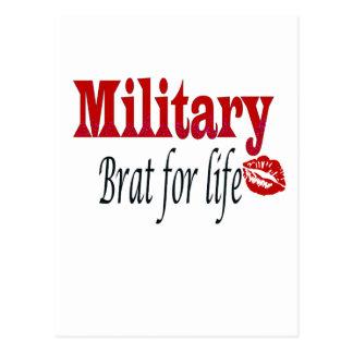 military brat 4 postcard