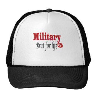 military brat 4 trucker hat