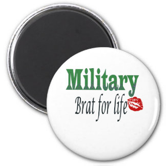 military brat 5 2 inch round magnet