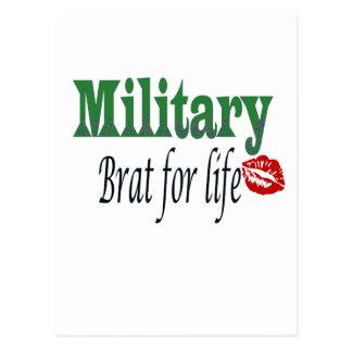 military brat 5 postcard