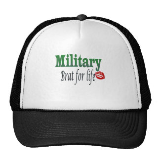 military brat 5 trucker hat
