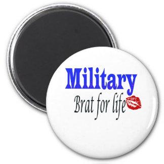 military brat 6 2 inch round magnet