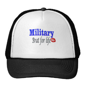 military brat 6 trucker hat