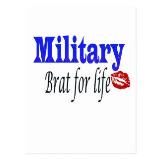 military brat 6 postcard