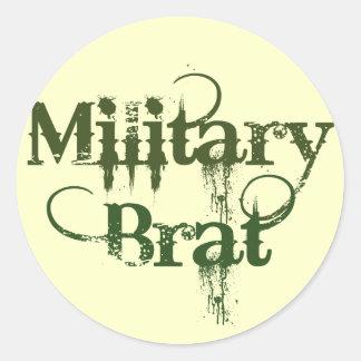 Military Brat Classic Round Sticker