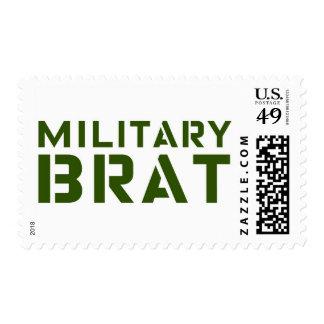 Military Brat Postage Stamps