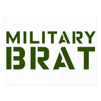 Military Brat Postcard
