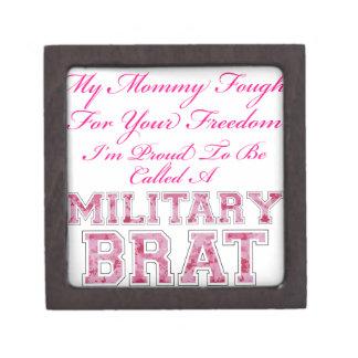 Military Brat Premium Keepsake Box