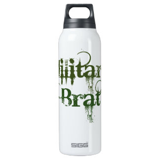 Military Brat 16 Oz Insulated SIGG Thermos Water Bottle