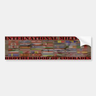 Military Brotherhood Bumper Sticker