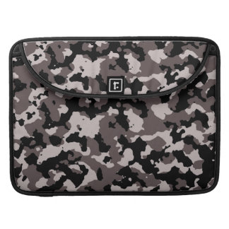 Military Brown Camouflage Pattern MacBook Pro Sleeve