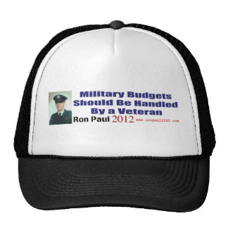 Military Budgets Should Be Handled By A Veteran Hat