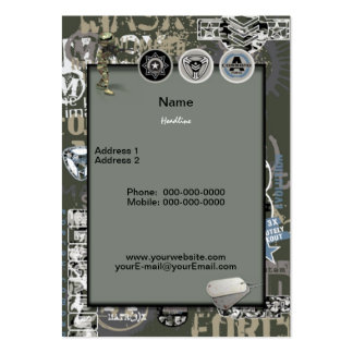 Military Business Card