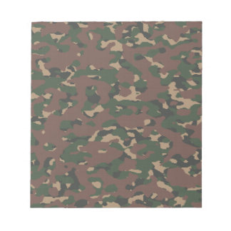 Military Camo 4 Soldiers, Patriots & Veterans Army Memo Notepad