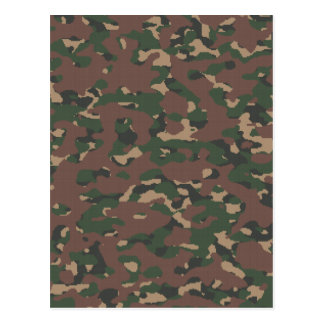 Military Camo 4 Soldiers, Patriots & Veterans Army Post Cards