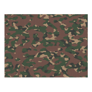 Military Camo 4 Soldiers Patriots Veterans Army Postcard