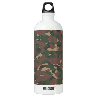 Military Camo 4 Soldiers, Patriots & Veterans Army SIGG Traveler 1.0L Water Bottle