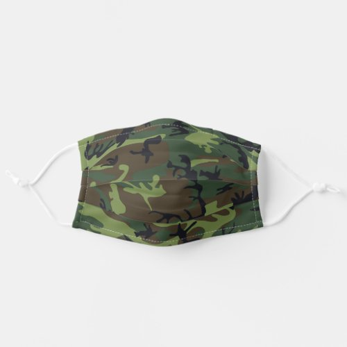 Military Camo Army Camouflage Cloth Face Mask