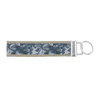 military camo camouflage digital sailor sea sun wrist keychain