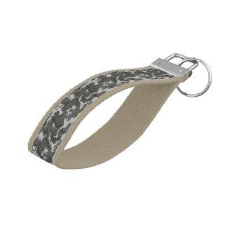 military camo camouflage digital urban desert sun wrist keychain