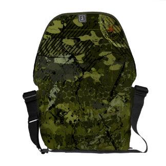 Military Camo Girl Messenger Bag
