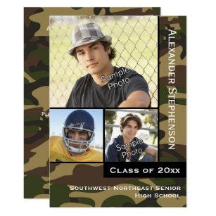 Military Graduation Invitations Announcements Zazzle