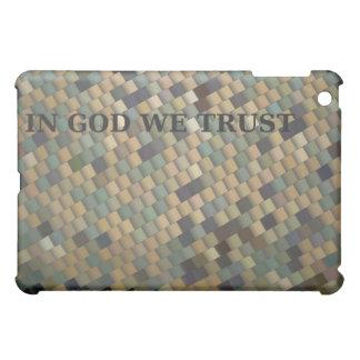 Military Camo - IN GOD WE TRUST iPad Mini Cover
