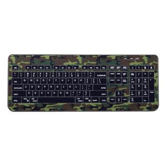 Military Camo Wireless Keyboard