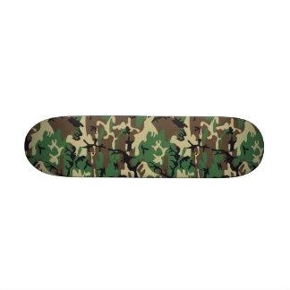 "Military Camouflage 7 1/4"" Skateboard"