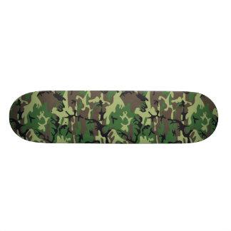 "Military Camouflage 7 3/4"" Skateboard"