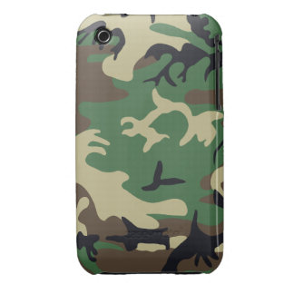 Military Camouflage Barely There™ iPhone 3G/3G Cas iPhone 3 Case