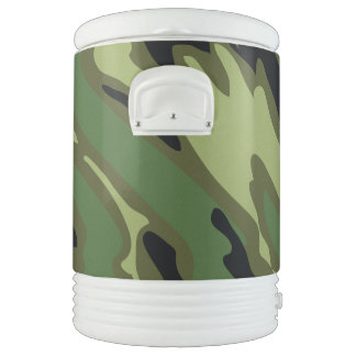 Military Camouflage Beverage Cooler