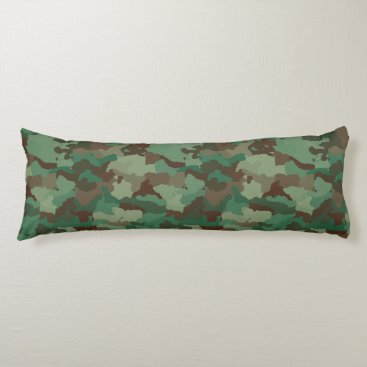 military camouflage body pillow