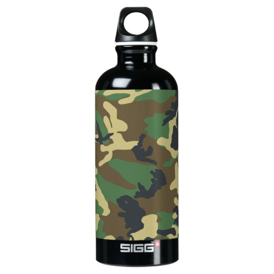 Military Camouflage Bottle