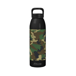 Military Camouflage Bottle Reusable Water Bottles