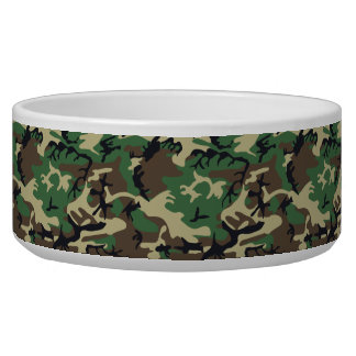 Military Camouflage Bowl