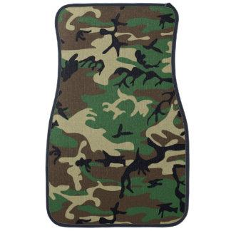 Military Camouflage Car Floor Mat