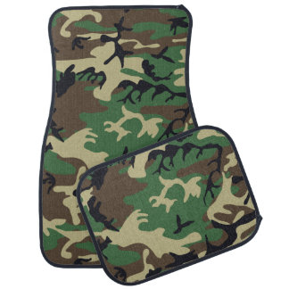 Military Camouflage Car Mat