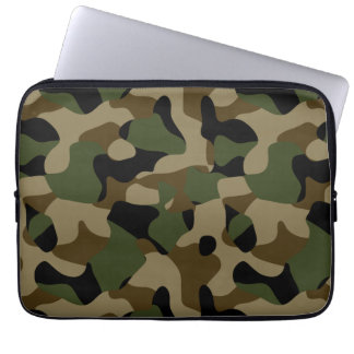 Military Camouflage Computer Sleeve