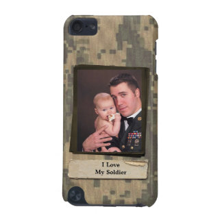 Military Camouflage Custom Photo Message iPod Touch (5th Generation) Cases