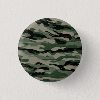 Military camouflage design button