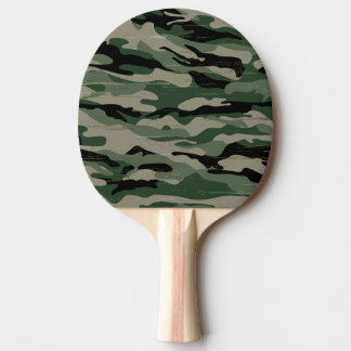 Military camouflage design Ping-Pong paddle